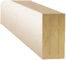 Trio laminated beams